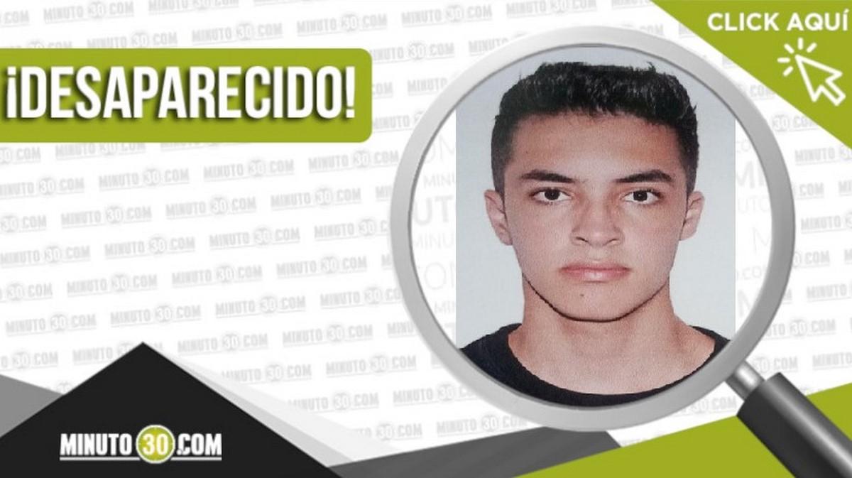 Juan José Bedoya Tejada desaparecido