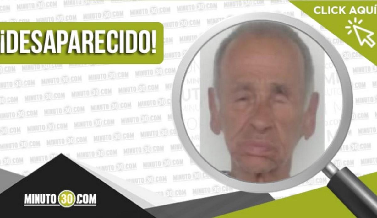 Argiro de Jesús Martínez Martínez está desaparecido