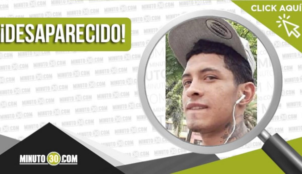 Deibinson Andrés Taborda Gil desaparecido