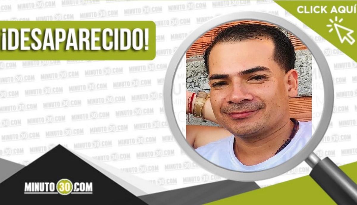 Sneyder Higuita Rueda desaparecido