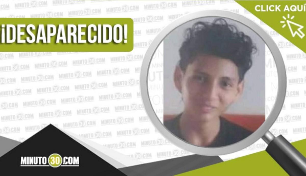 Jeison José González González desaparecido