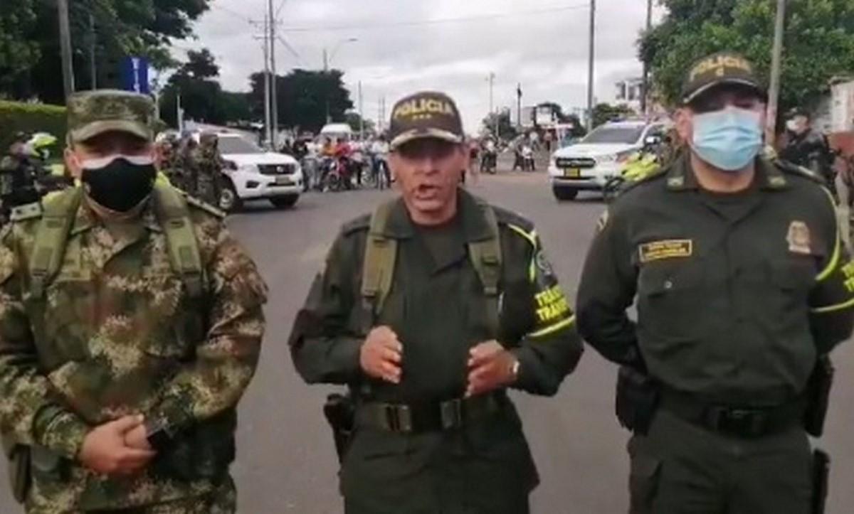Fuerza Pública levantó último bloqueo en el Valle del Cauca