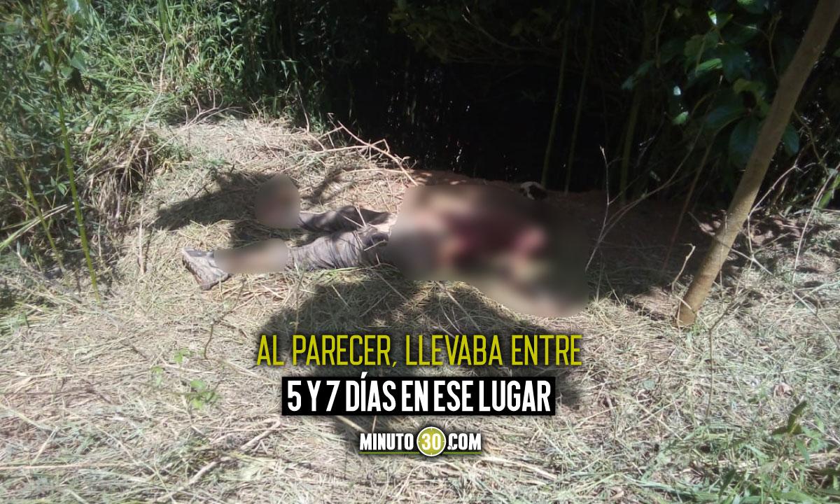 Encontraron un cadáver en la vereda Vallecito de Barbosa