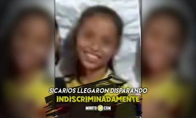 En un velorio de un joven asesinaron a una niña de 10 años