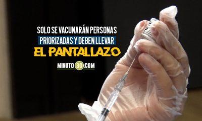 A partir de mañana Envigado tendrá nuevo punto de vacunación