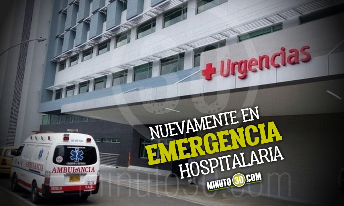 Hospitales de Medellín se vuelven a declarar en emergencia