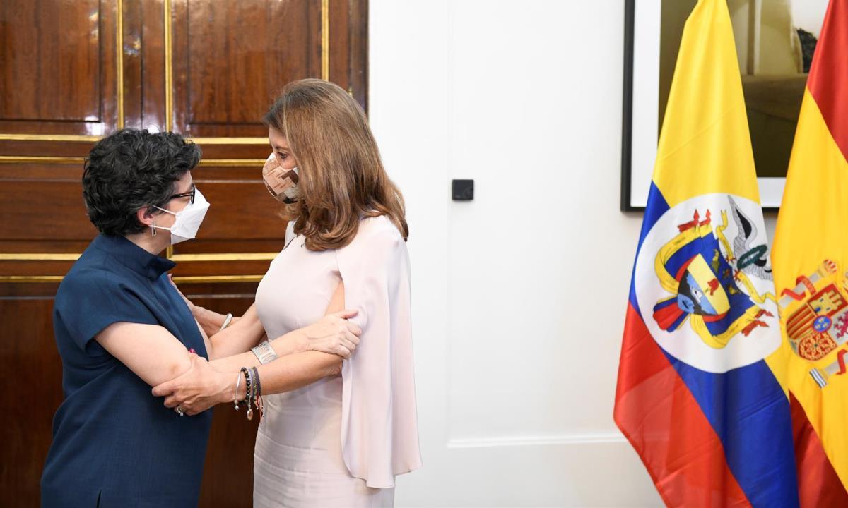 España y Colombia