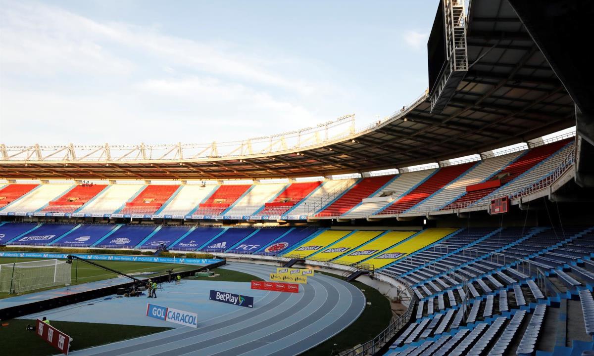 publico en los estadios de colombia