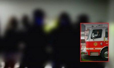 Hasta bomberos intervinieron fiesta clandestina en Bogotá