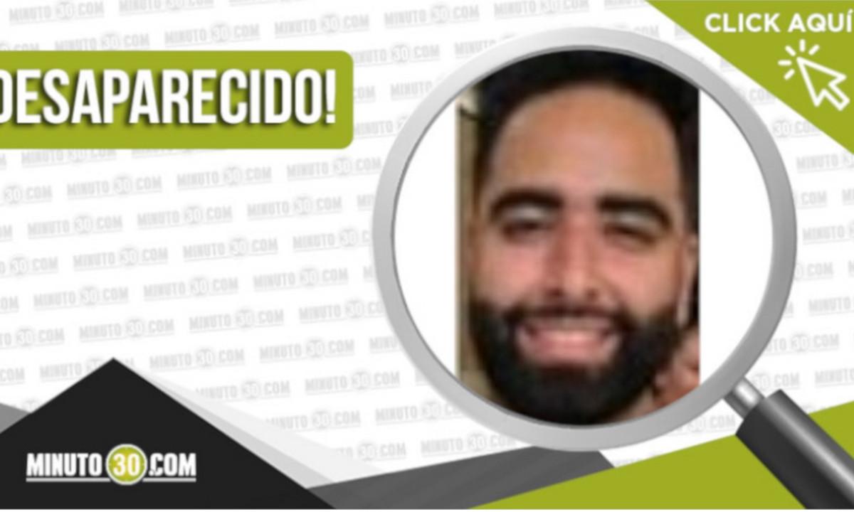 Héctor Daniel Ospina Vera de 30 años está desaparecido