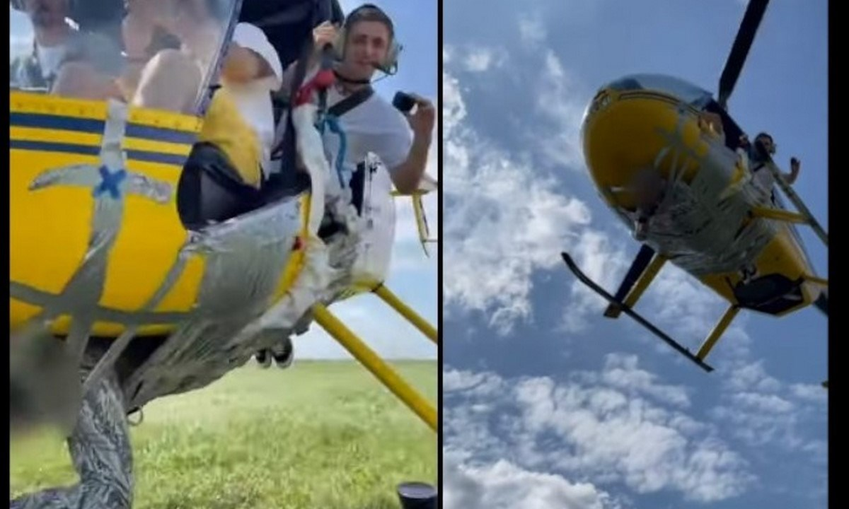 helicoptero persona vuelo youtuber