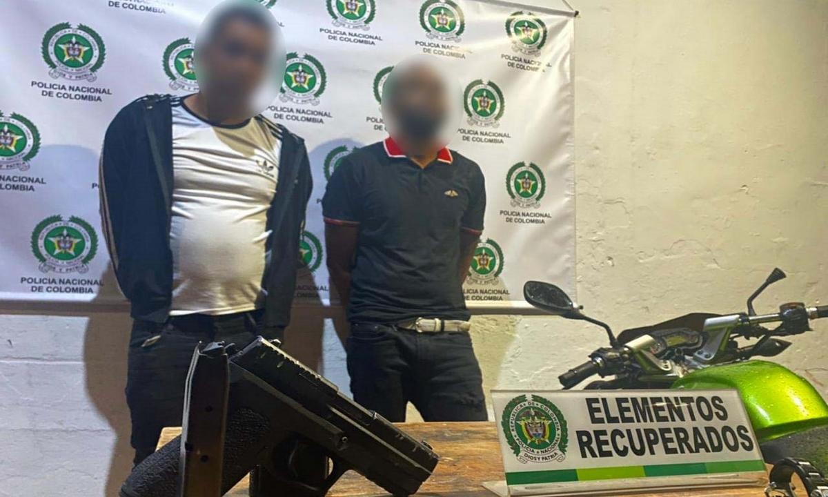 hombres-capturados-hurto-Medellín