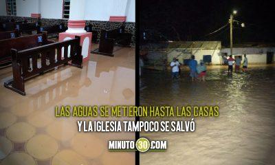 Gran inundación en San José de Uré, Córdoba