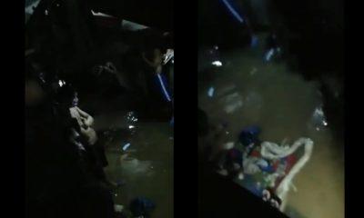 Se inundaron los calabozos de la estación de Policía de La Candelaria