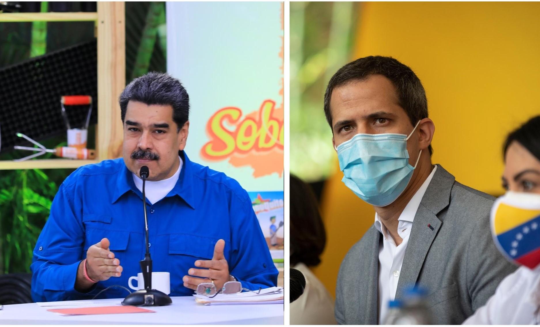 venezuela maduro y guaido