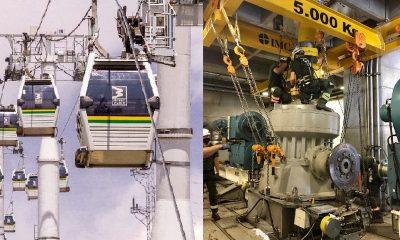 Así avanza el mantenimiento anual en el Metrocable línea J