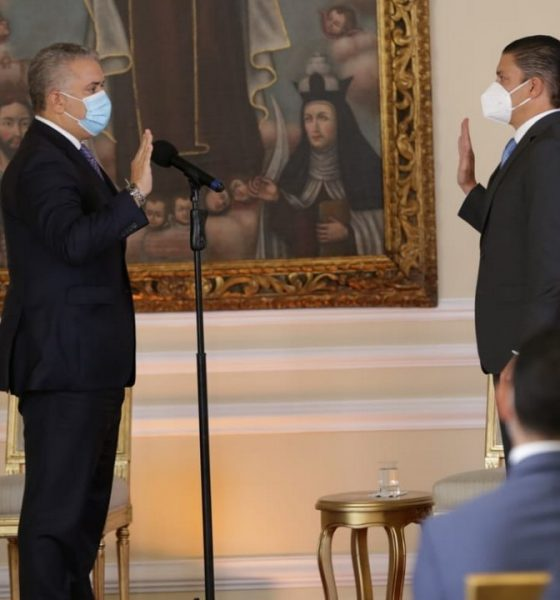 Duque posesionó hoy al nuevo ministro de Ciencia