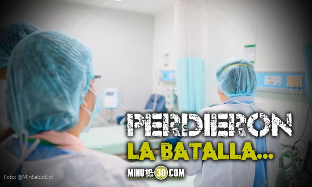 ¡Doloroso! Confirman la muerte de 685 personas por Covid en Colombia
