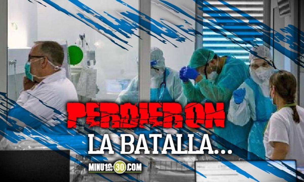 En Colombia siguen aumentando las muertes por Covid, hoy confirmaron 693 fallecimientos