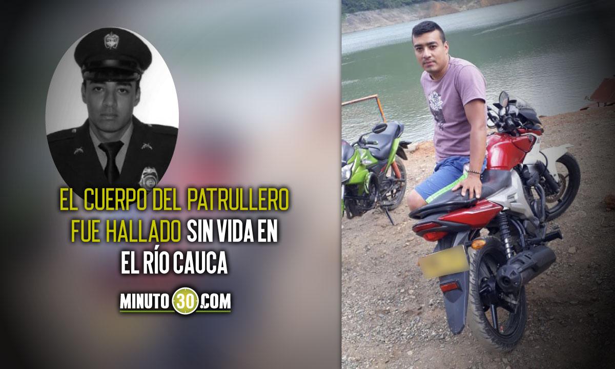 Hallaron muerto al patrullero que estaba desaparecido en Cali