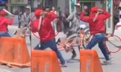 Hombres se enfrentaron a machete en Rionegro