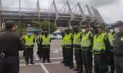 policia estadios barranquilla