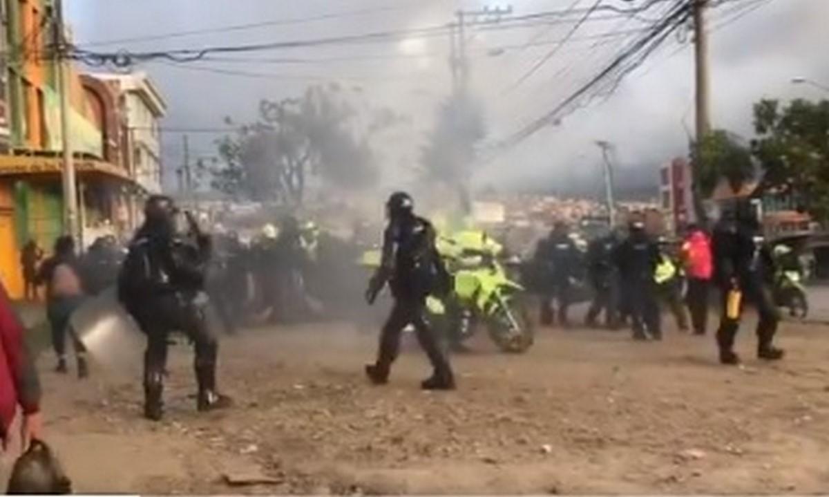 40 policías heridos en las protestas del pasado 28 de junio