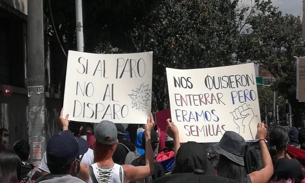 primera línea-Medellín-manifestaciones