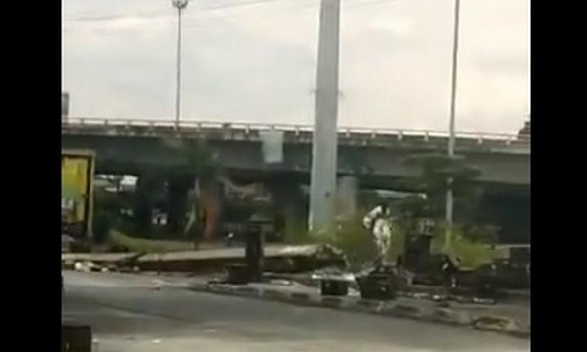 Un hombre fue asesinado anoche por el Puente de los Mil Días