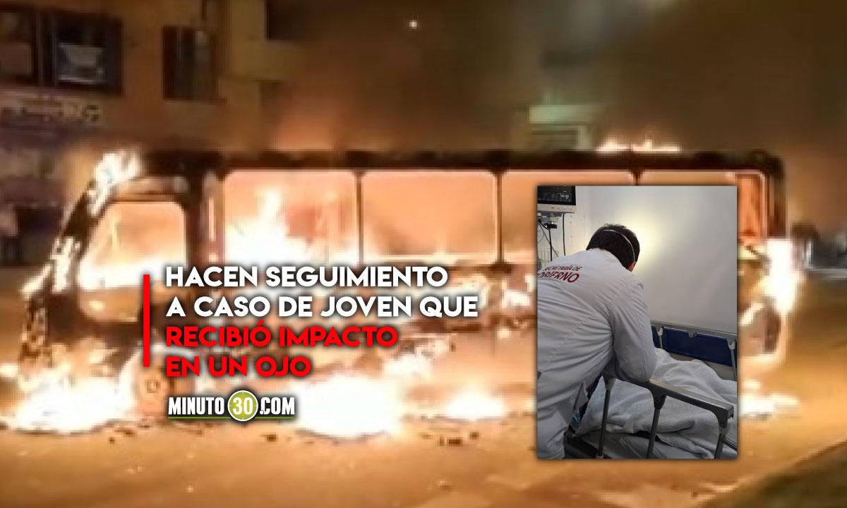 'Toma de Bogotá' dejó 68 personas heridas