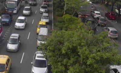 Así están las vías de Medellín