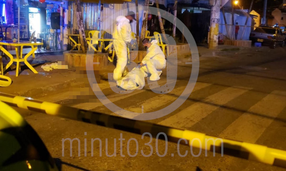 [Fotos] Se estaba tomando un café en Belén cuando sicarios se le acercaron y lo mataron