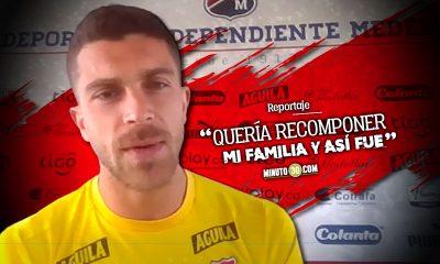 Adrian Arregui conto detalles de su regreso a Independiente Medellin