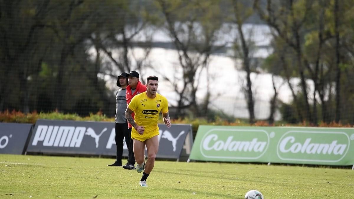 Adrian Arregui en Independiente Medellin 3