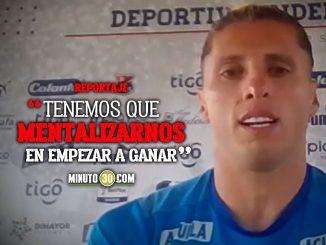 Agustin Vuletich ve el partido con Junior como una oportunidad