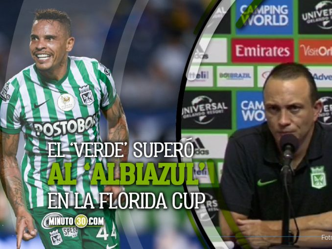 Alejandro Restrepo entrego balance partido Nacional Millonarios