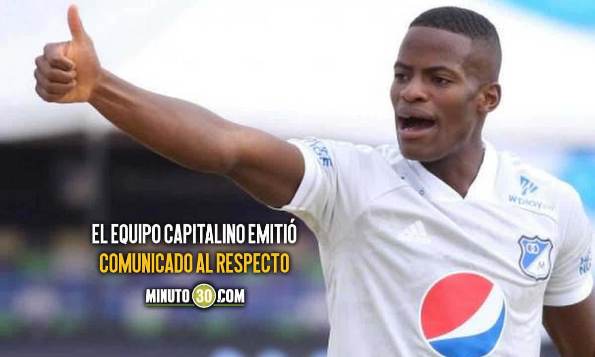 Andres Felipe Roman habilitado para jugar de nuevo con Millonarios