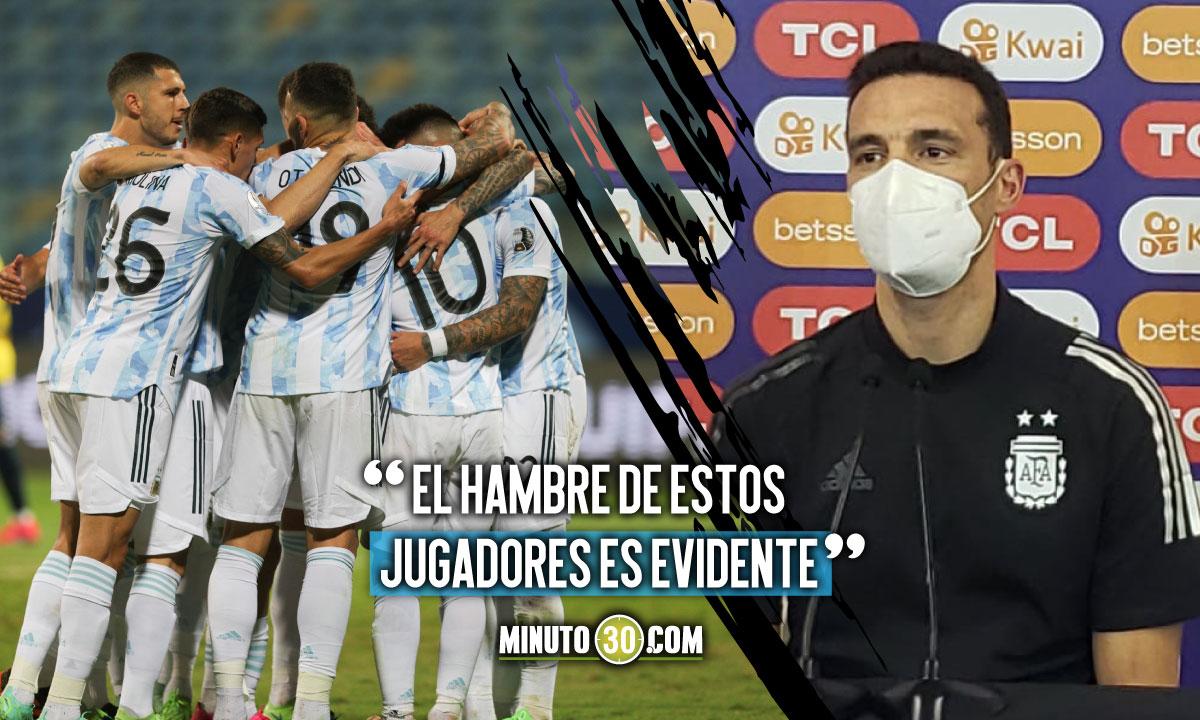 Argentina enfrentara Colombia con una ilusion barbara de llegar a la final
