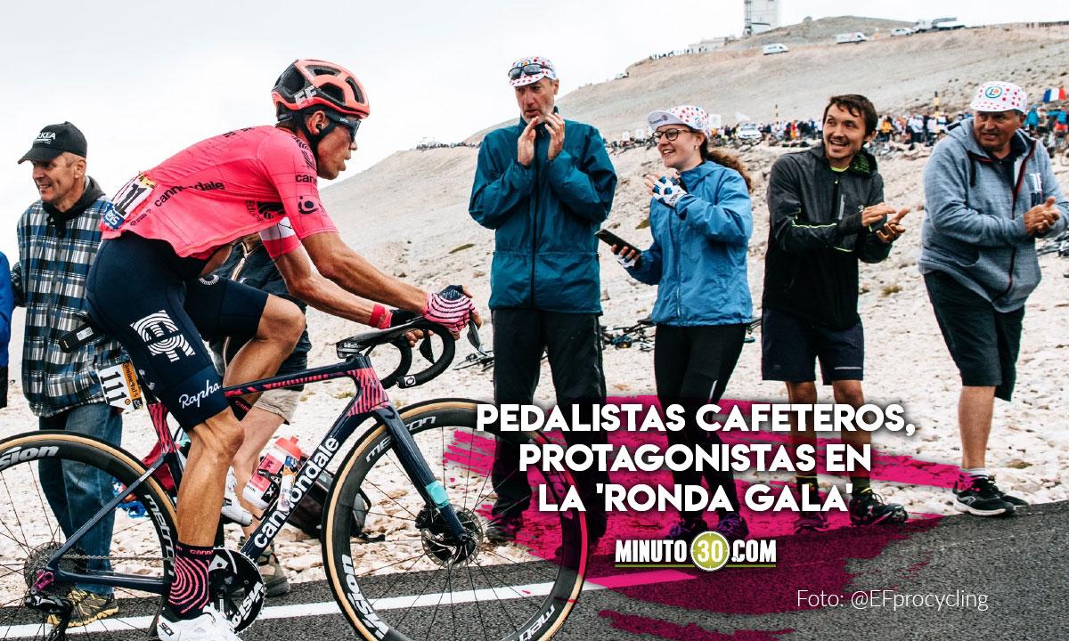 Asi quedaron ubicados los ciclistas colombianos tras la etapa 12