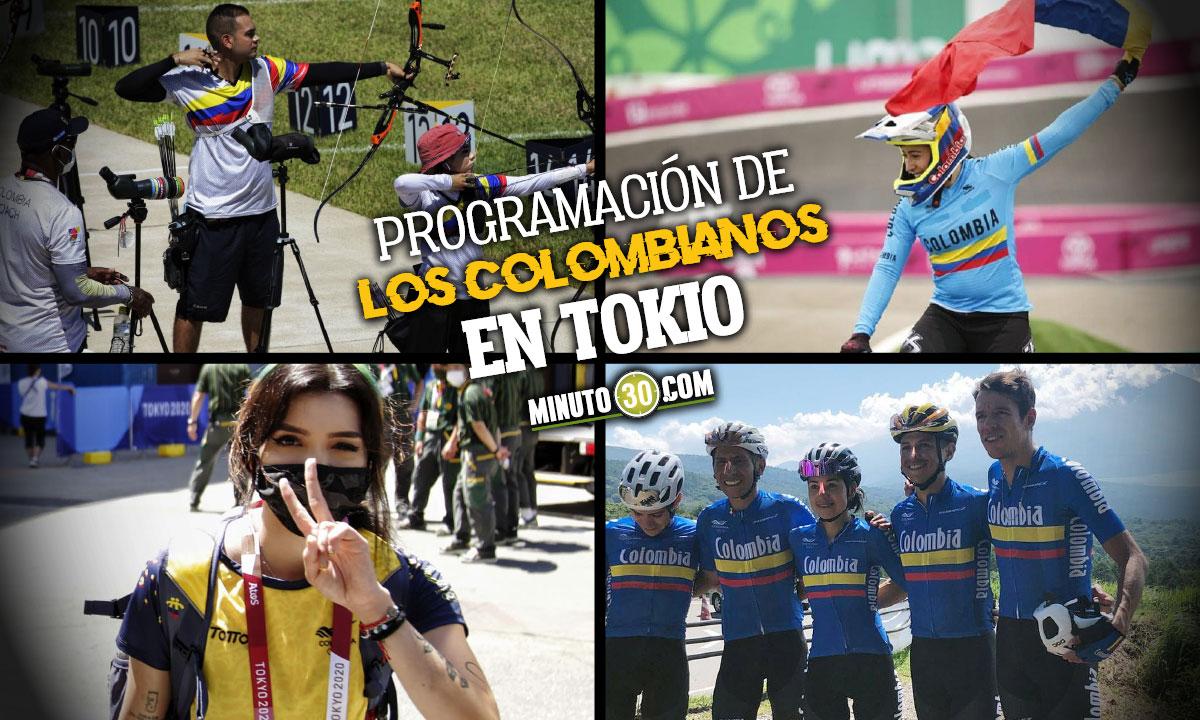 Asi sera la agenda de los deportistas colombianos en Juegos Olimpicos