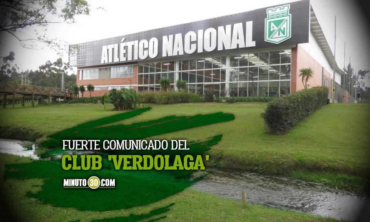 Atletico Nacional dice que Dimayor quiere forzar el pago irregular a Cortulua
