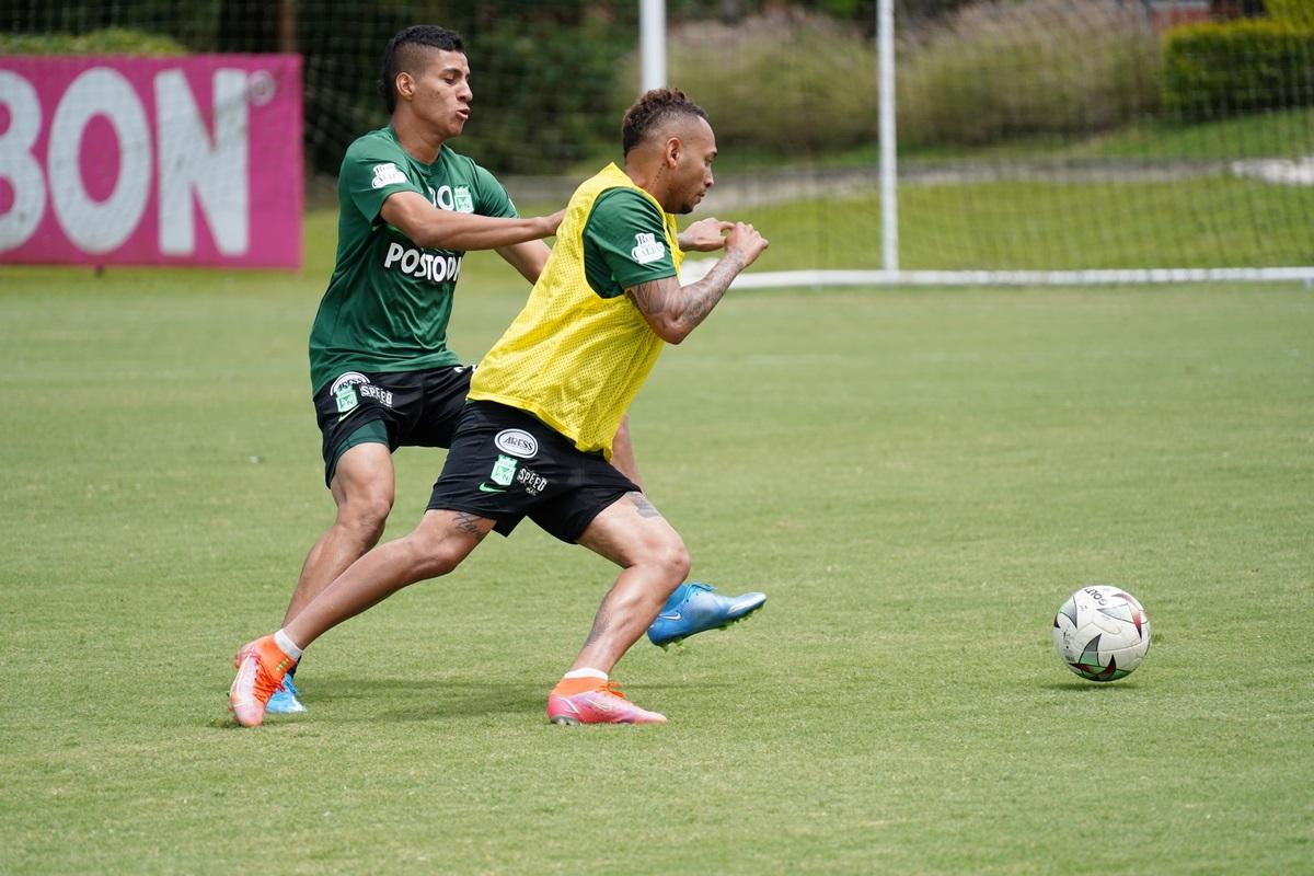 Atletico Nacional entrenamiento Julio 11