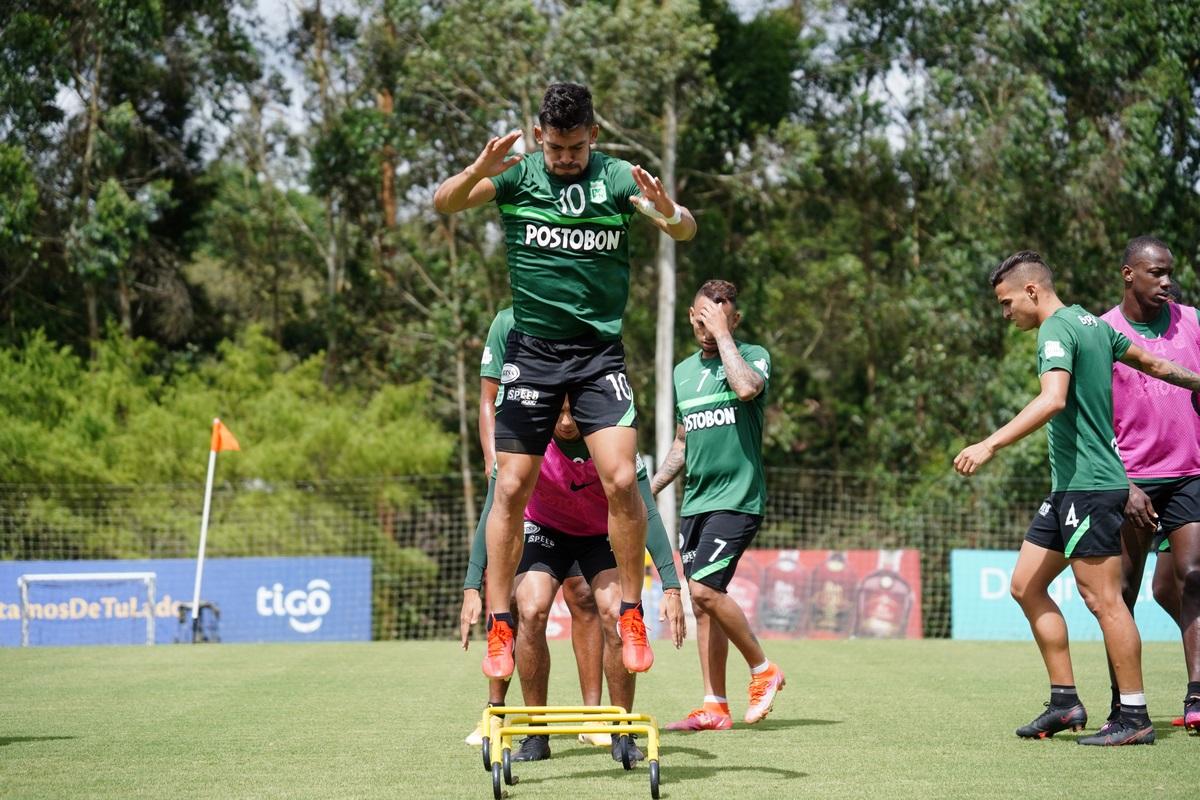 Atletico Nacional entrenamiento Julio 5