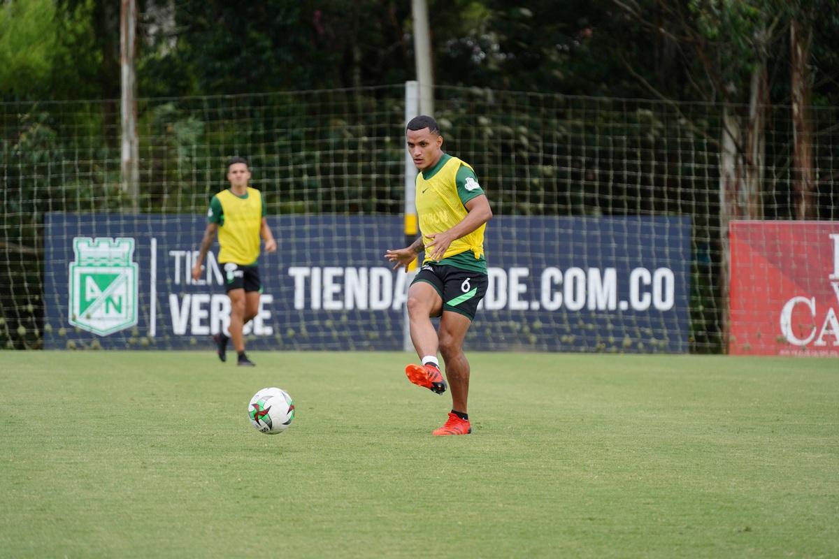 Atletico Nacional entrenamiento Julio 8