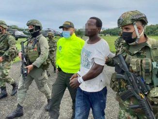 Cogieron al 'Caimán' en el Chocó, presunto cabecilla del 'Clan del Golfo'
