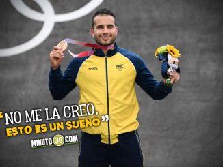 Carlos Ramirez una medalla con dolor