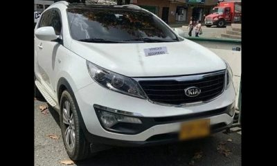 Se sintieron perseguidos y dejaron abandonado el carro que se habían robado en Rionegro