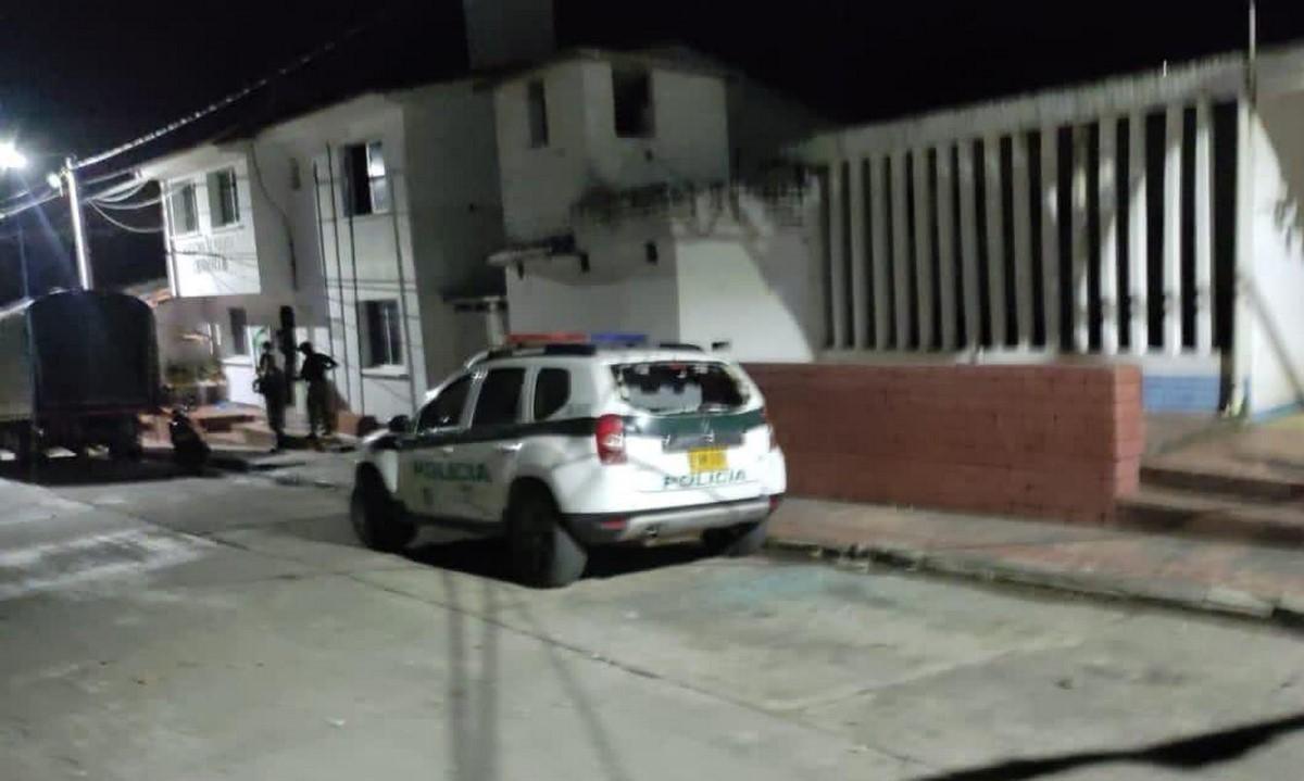 Atacaron la estación de Policía en Chinácota