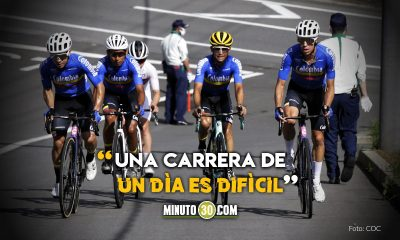 Ciclistas colombianos listos para el debut en los Juegos Olimpicos