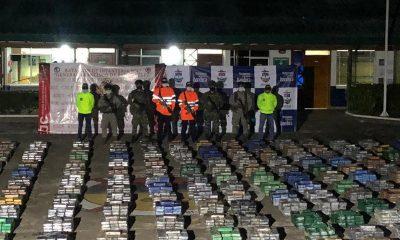 Incautaron 5,4 toneladas de cocaína en selva del Chocó